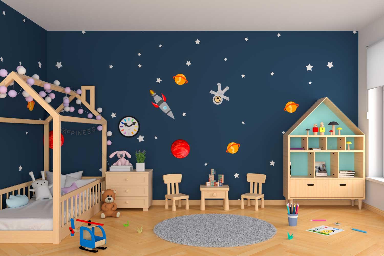 Vaikų kambario foto tapetas