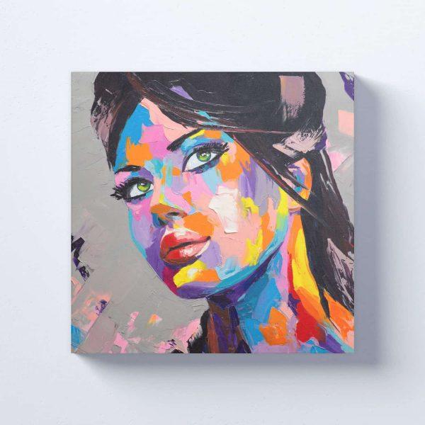 Paveikslas ant drobės Merginos portretas