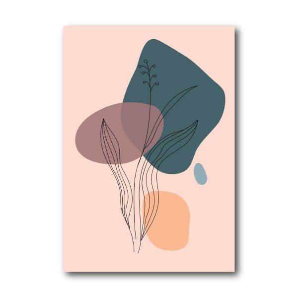 Paveikslas Abstrakti gėlė