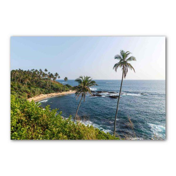 Foto drobė Tropinis paplūdimys