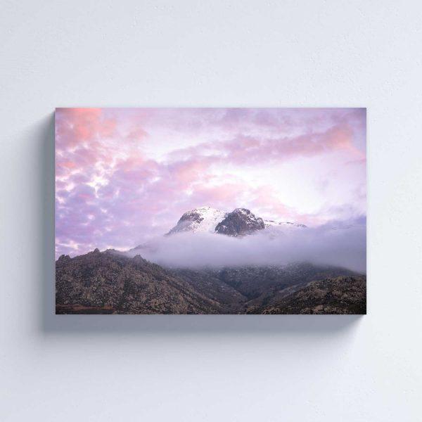 Foto drobė Viršukalnė danguje
