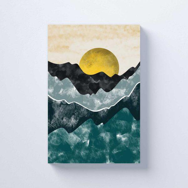 Saulėlydis virš vandenyno