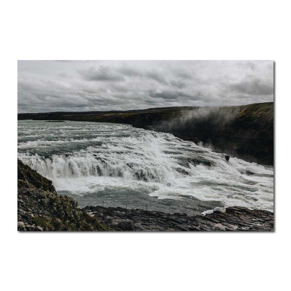 Fotodrobė Islandijos krioklys
