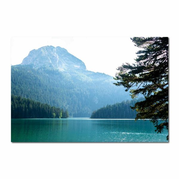 Foto drobė Ežeras
